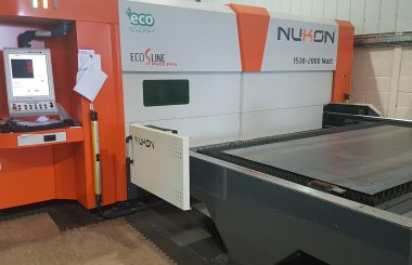 Ex Demo Eco 2kW Fibre Laser Cutting Machine For Sale