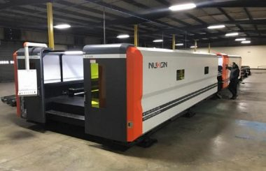 Nukon installs 98ft long Fibre Laser at Advanced Laser